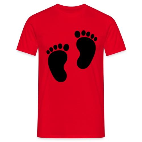 Baby voetjes - Mannen T-shirt