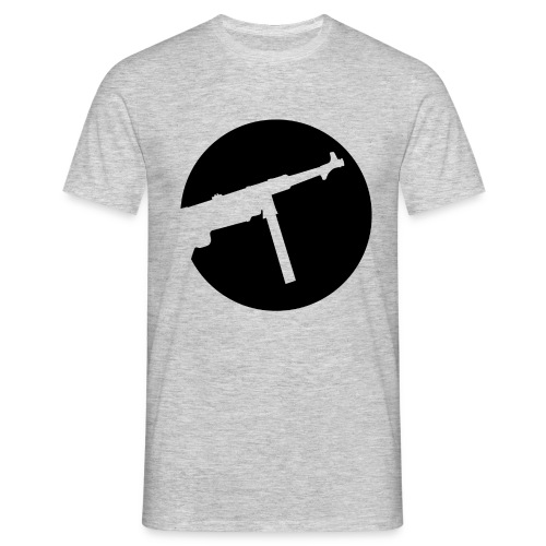 Mp40 german gun maschinenpistole 40 ww2 - Men's T-Shirt