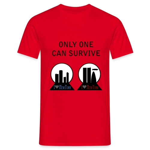 Fringe only one can survive - Camiseta hombre