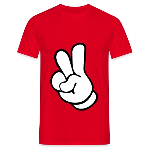 Peace Hand - Men's T-Shirt