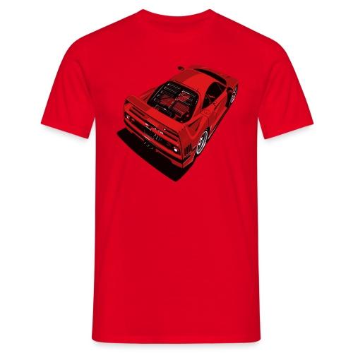 f40 png - Maglietta da uomo