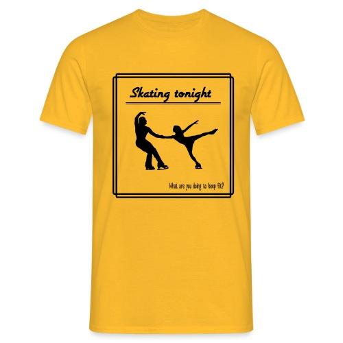 Skating tonight - Miesten t-paita