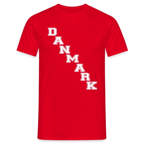 danmarkoldshool - Herre-T-shirt