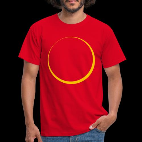 ECLIPSE - Yellow Sun - Maglietta da uomo