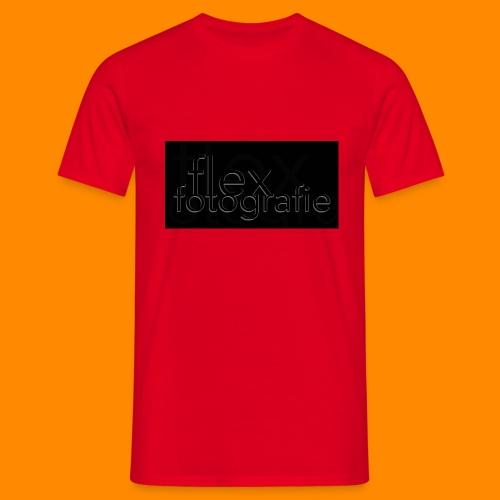 flex fotografie dunkel - Männer T-Shirt