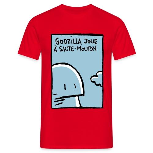 Godzilla Saute-mouton - Men's T-Shirt