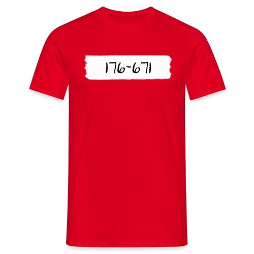 pensel176-671 - Herre-T-shirt