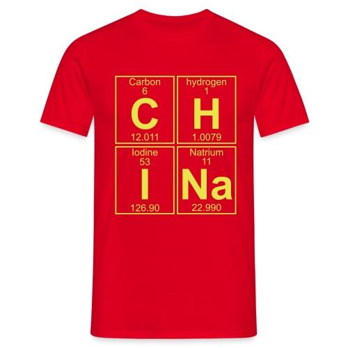 C-H-I-Na (china) - Full - Men's T-Shirt