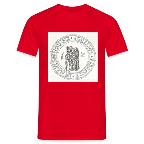 Herzhorn Siegel von 1552 - Männer T-Shirt
