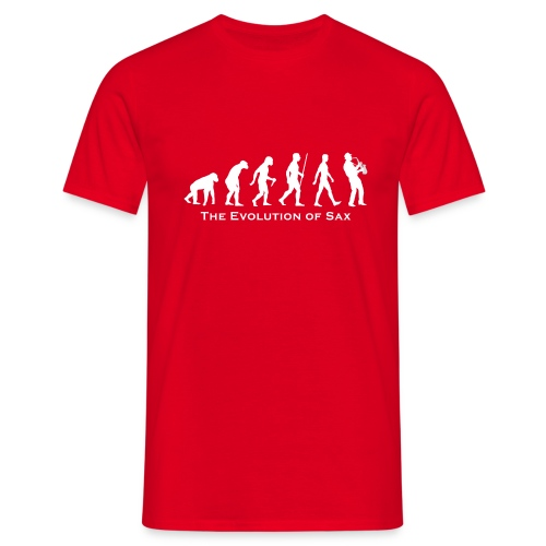 The Evolution Of Sax - Camiseta hombre