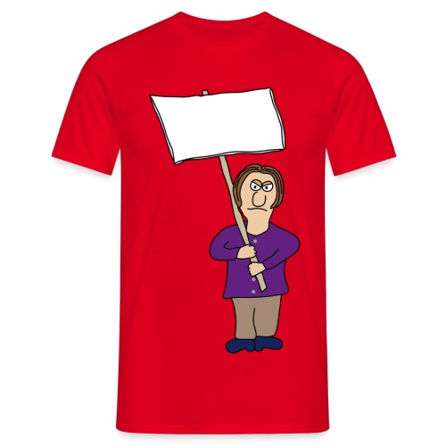 Protest - Männer T-Shirt