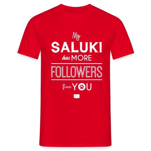 My Saluki Has... - Maglietta da uomo