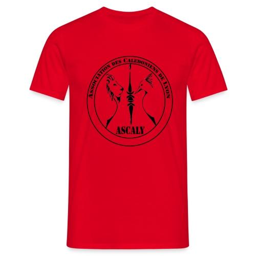 LOGO TSHIRT BLACK - T-shirt Homme
