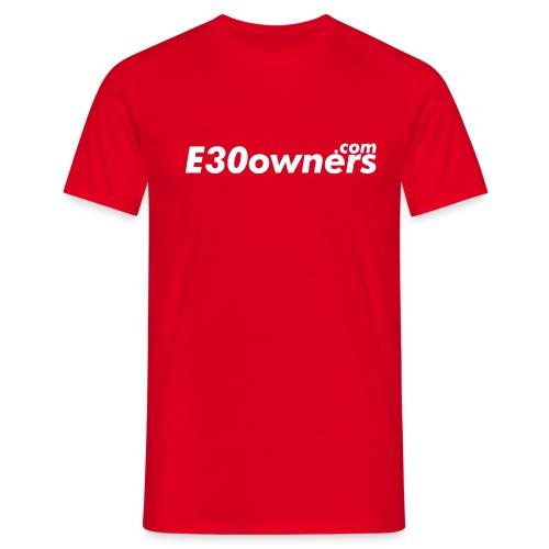 e30owners1 - Men's T-Shirt