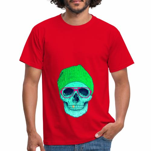 POP SMILING SKULL - T-shirt Homme