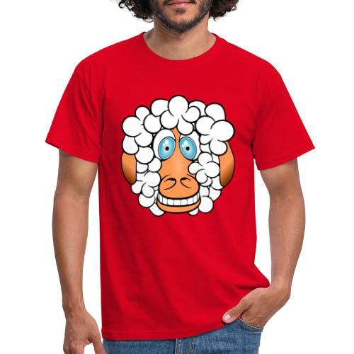 bad hair day crazy sheep - Männer T-Shirt