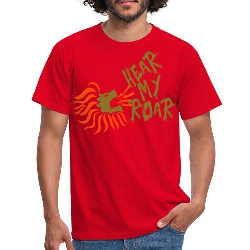 hearmyroar - Mannen T-shirt