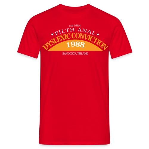 dyslexicplot nt - Mannen T-shirt