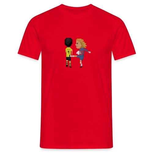 Kung fu goalkeeper - Men's T-Shirt