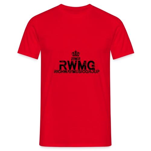 RWMG_Black 2 - Mannen T-shirt
