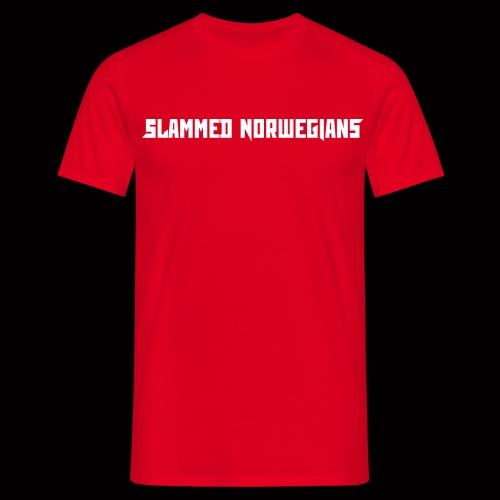 slammednorwegians - T-skjorte for menn