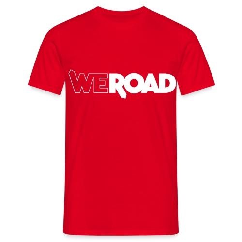Logo WeRoad Bianco - Maglietta da uomo