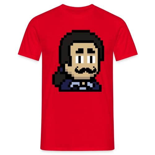 Masud mustache - Männer T-Shirt