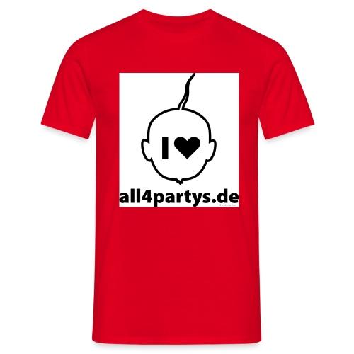 ALL4PARTYS 2019 - Männer T-Shirt