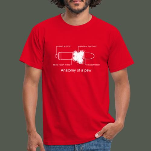 Anatomy of pew - Men's T-Shirt