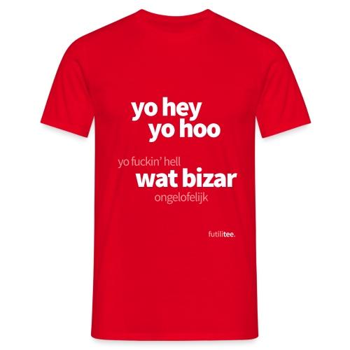 futilitee - yo hey yo hoo - Mannen T-shirt