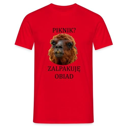 Alpaka piknik - Koszulka męska