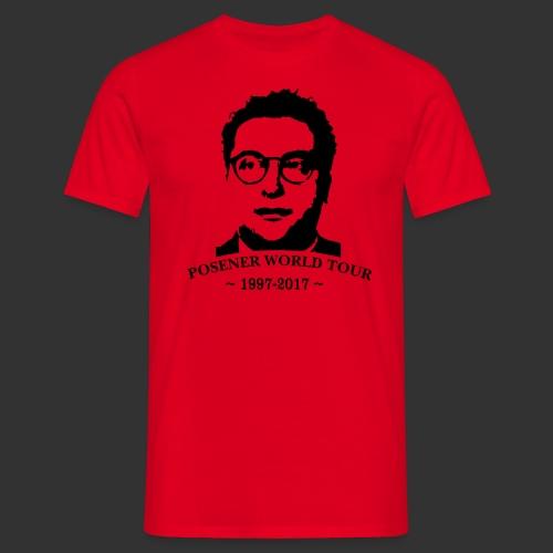 Posener World Tour 2017 - T-shirt herr