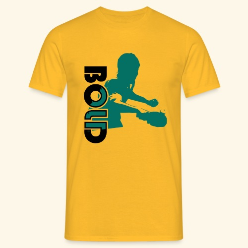 BOLD, table tennis championship ideal gift - Männer T-Shirt