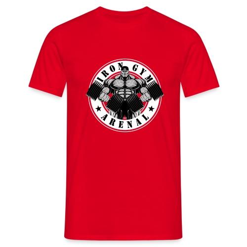 Logo Round White 'Version 2' - Camiseta hombre