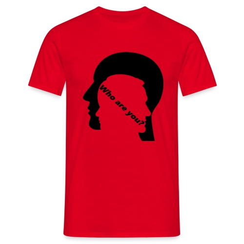 Who are you - Männer T-Shirt