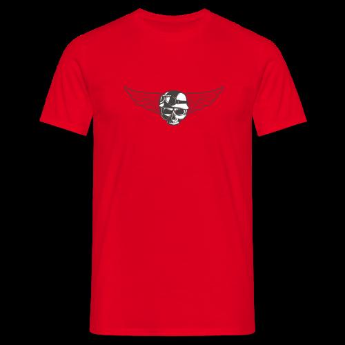 Biker skull - Men's T-Shirt