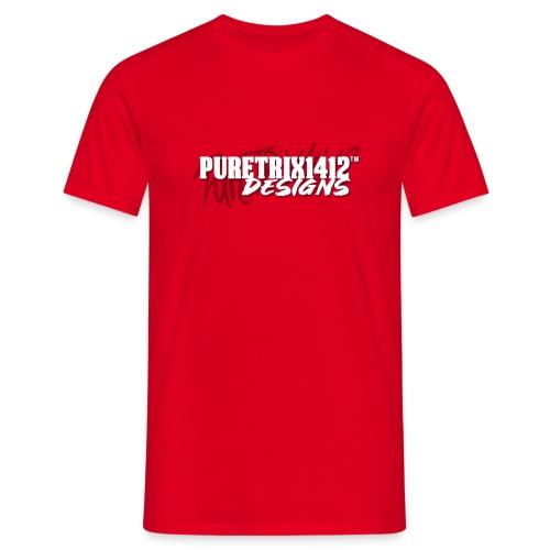 Unterschift Text - Männer T-Shirt