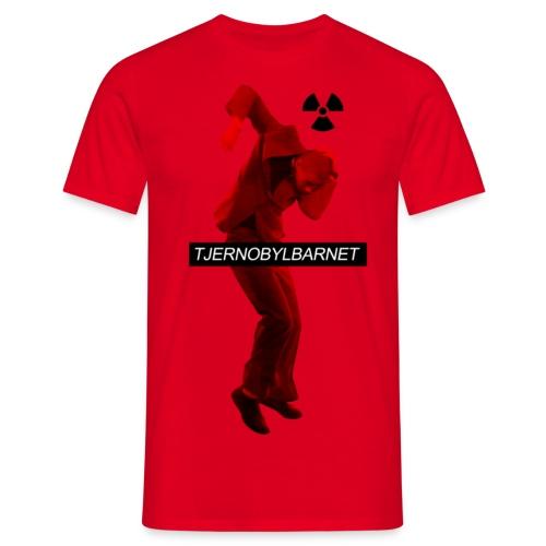 TJERNOBYL RÖD - T-shirt herr