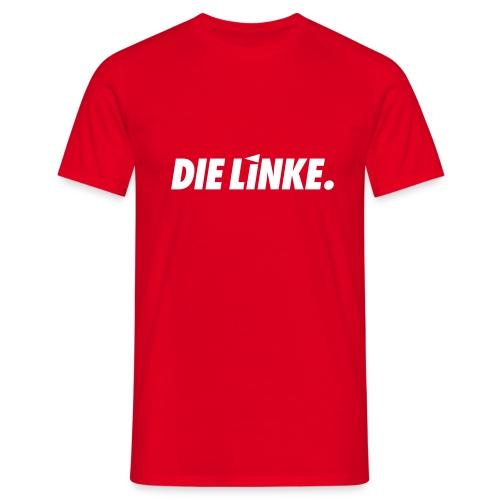 LINKE. Logo_S/W - Männer T-Shirt