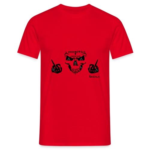 astra la vista bazala positiv mind - Männer T-Shirt