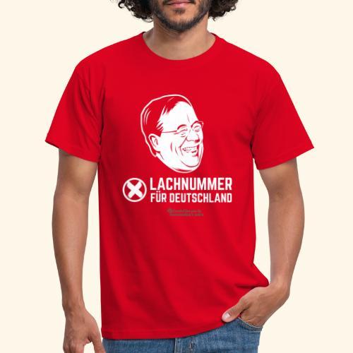 Lachnummer für Deutschland - Männer T-Shirt