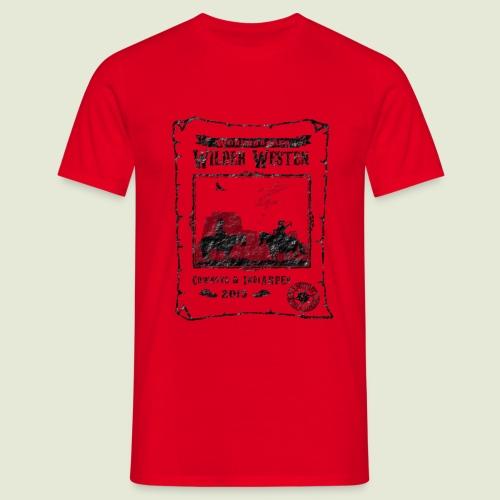 Zeltlager 2015 Motiv - Männer T-Shirt