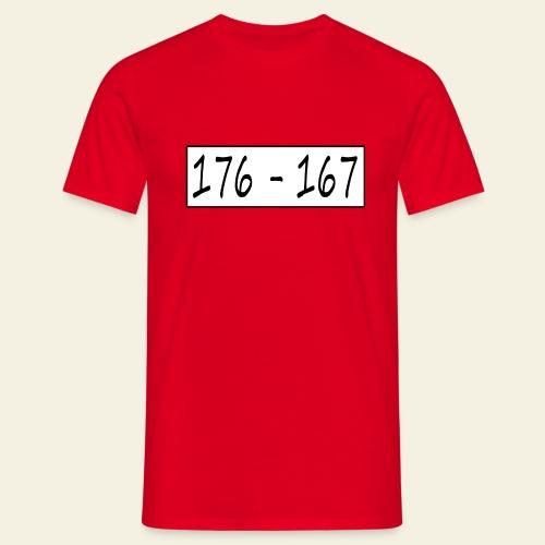 176167 - Herre-T-shirt