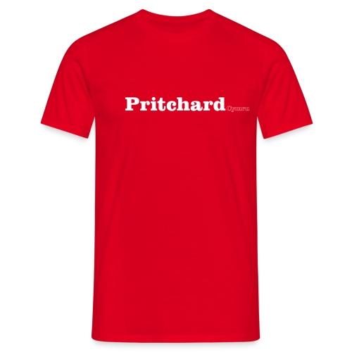 pritchard cymru white - Men's T-Shirt