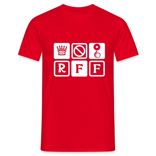 logo rff new - T-shirt Homme