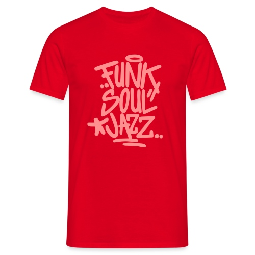funk soul jazz - Männer T-Shirt