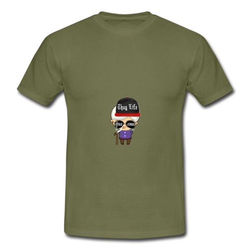 Angry Granny T-shirt - Männer T-Shirt