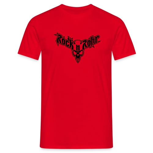 rnr logo aufschwarz - Männer T-Shirt