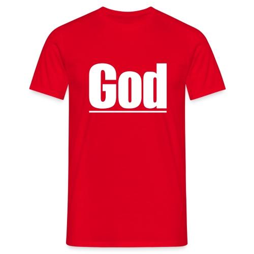 God - Mannen T-shirt