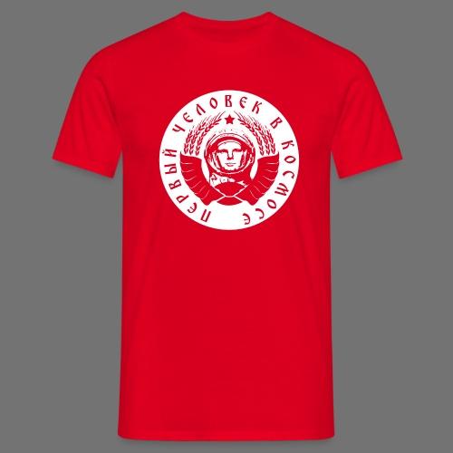 Cosmonaut 1c white - Men's T-Shirt
